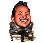 カリカチュア・ジャパン代表 Kage様